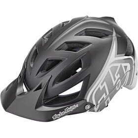 Troy Lee Designs A1 MIPS Kask, classic black/white